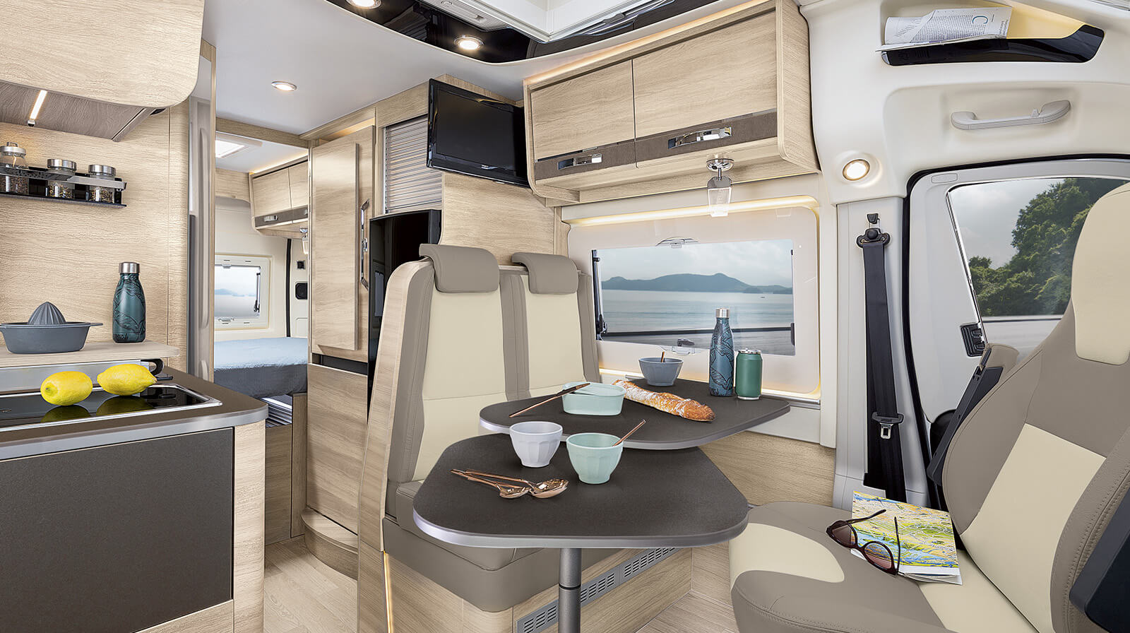 Interior photos RAPIDO Motorhome V55